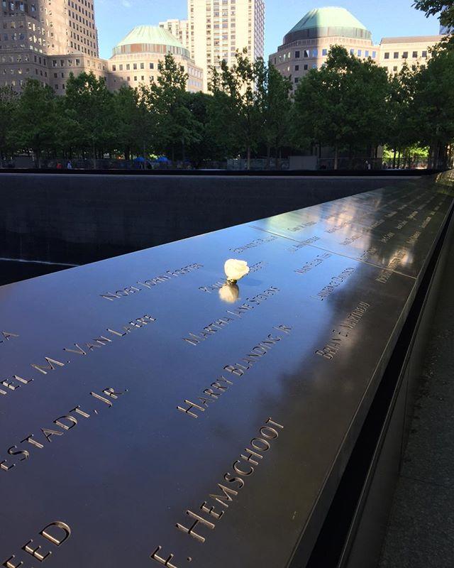 @9/11 memorial.  #neverforget #heroes