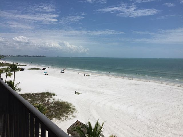 The morning view from a client's new condo on Fort Myers Beach. It's going to be spectacular! #coastaltransformation #interiordesign #homedecor #styleyourhome #homesweethome #homeinspiration #loveyourhomeagain #southwestfloridadecorator #styleyourhome #colorchangeseverything #interiordecorating #affordabledesign #spectacularspaces