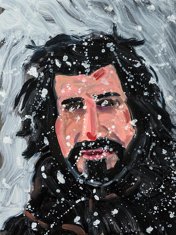 "Inigo | oil on canvas 12"" x 9"""