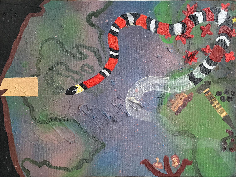 "Untitled | oil on panel 9"" x 12"""