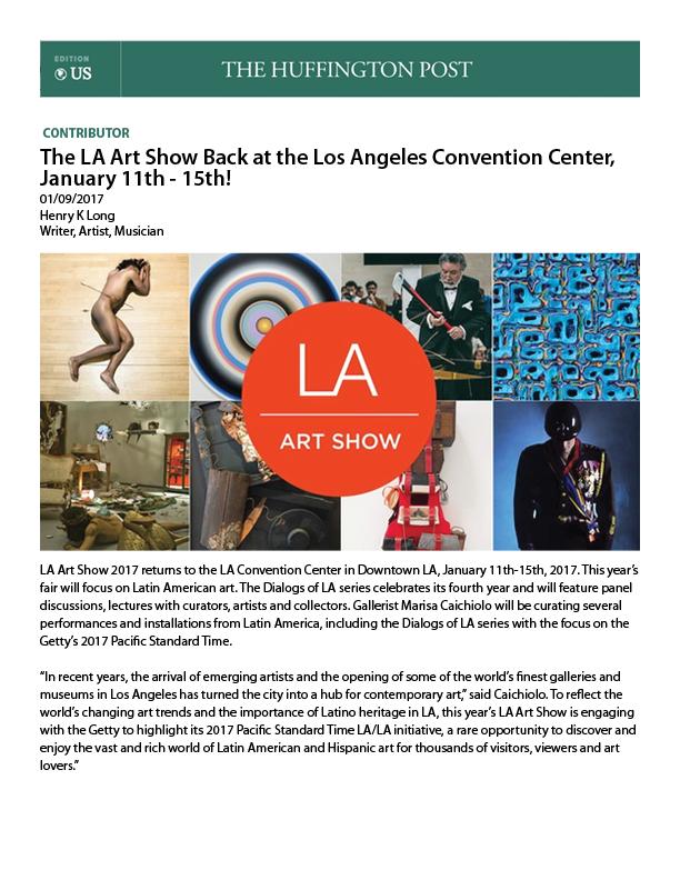 The Huffington Post | LA Art Show