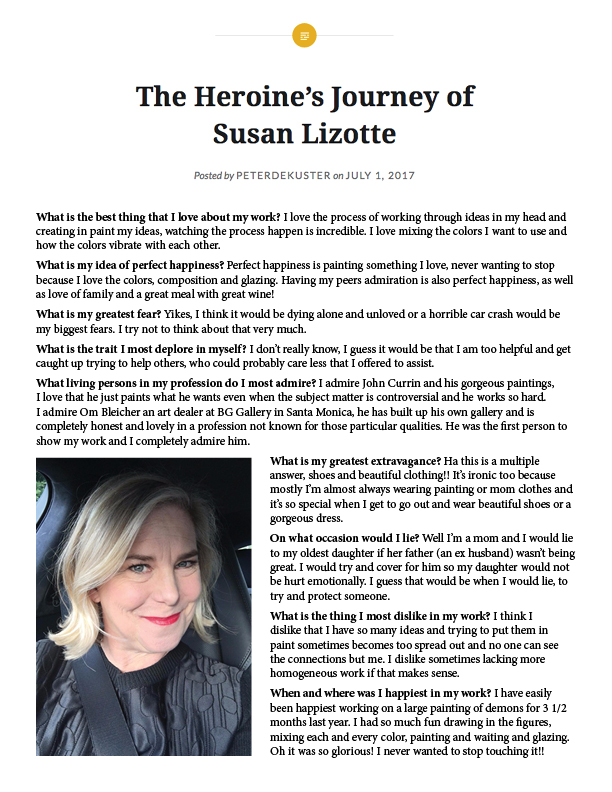 The Heroine's Journey od Susan Lizotte