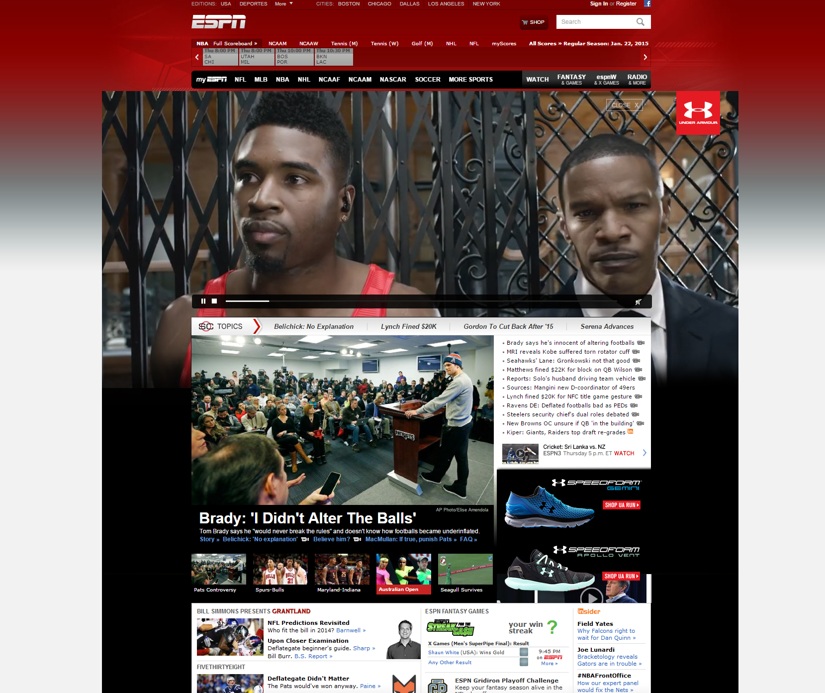 Under Armour - Erase All Doubt - ESPN Showcase