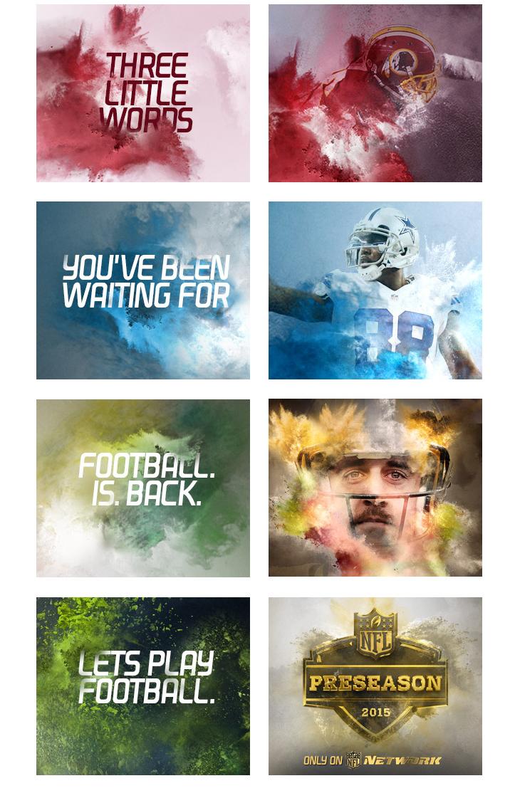 NFL - Preseason 2015 - Banner Concept