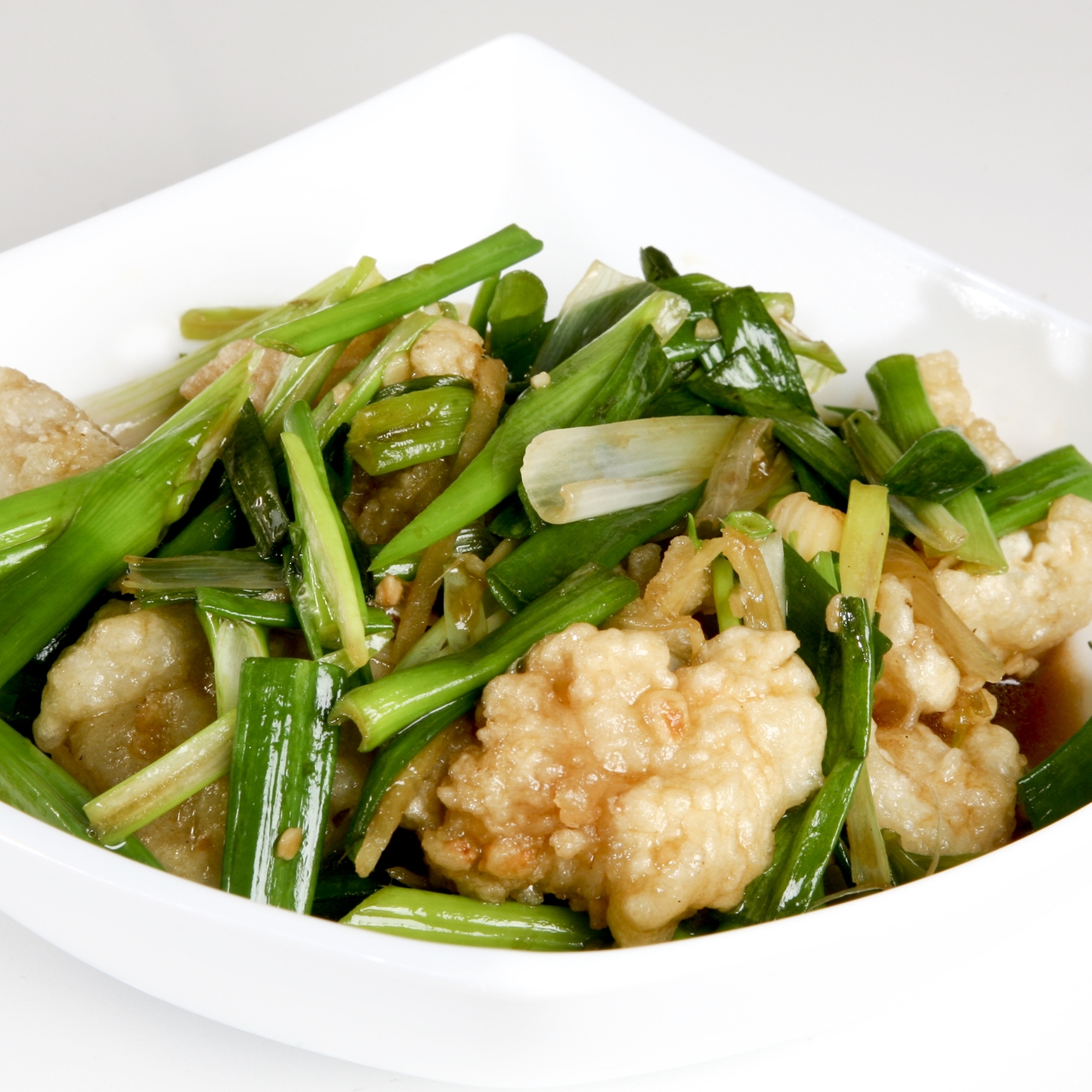Ginger Scallion Fish Cube