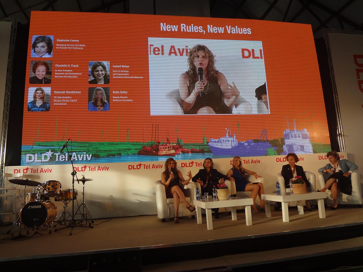 Panel at DLD, Tel Aviv
