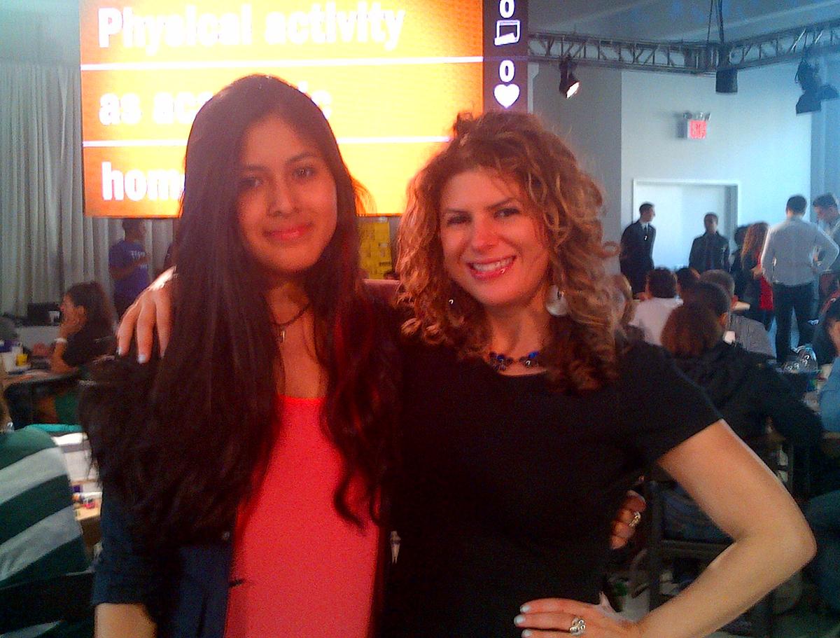 With my mentee & TC winner Graciela Garcia