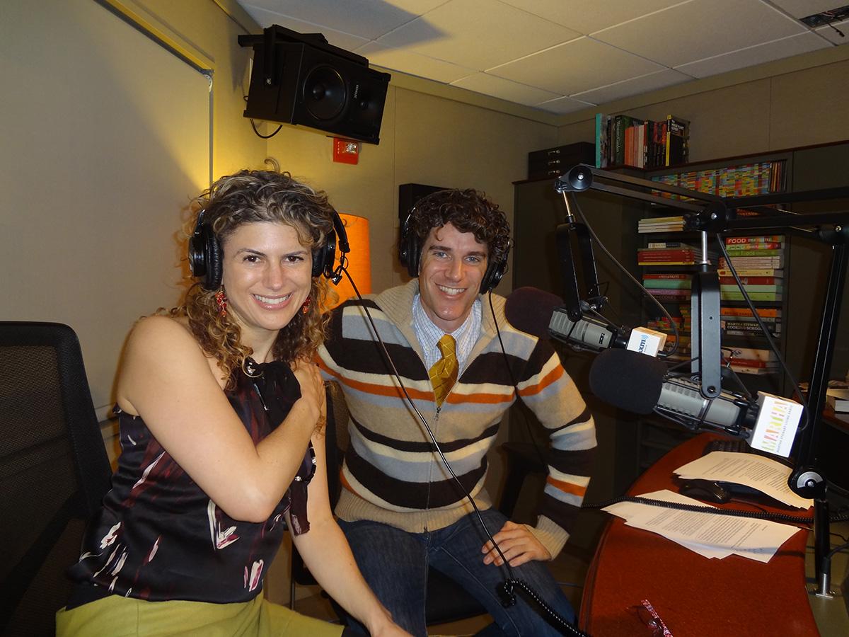 Recording for Martha Stewart Radio