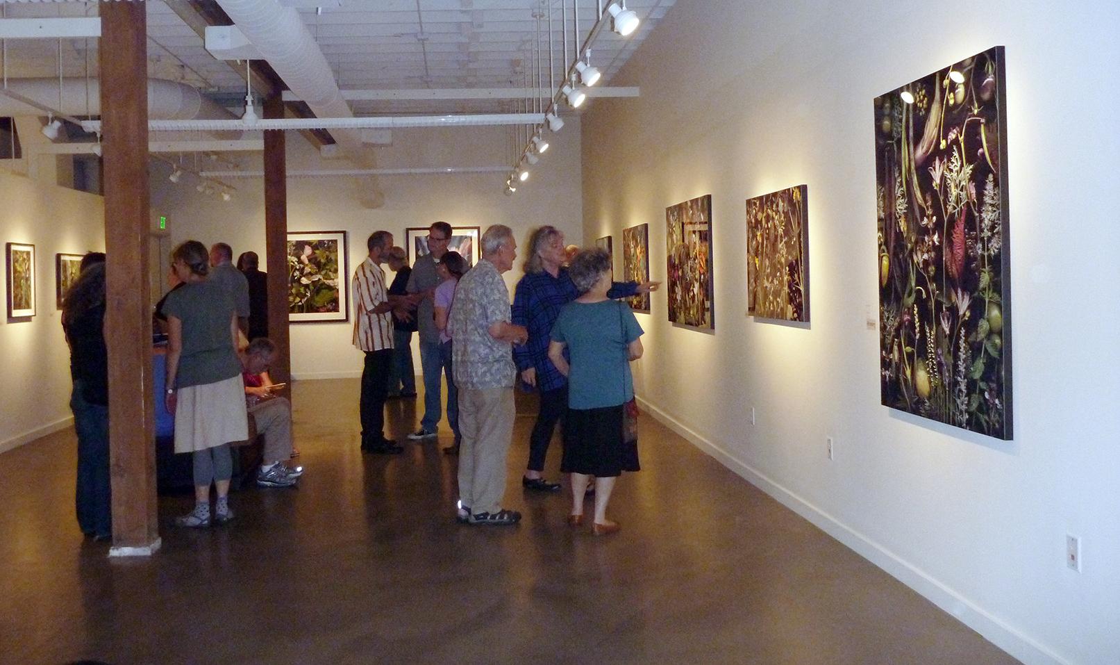 At the artist talk September 12.