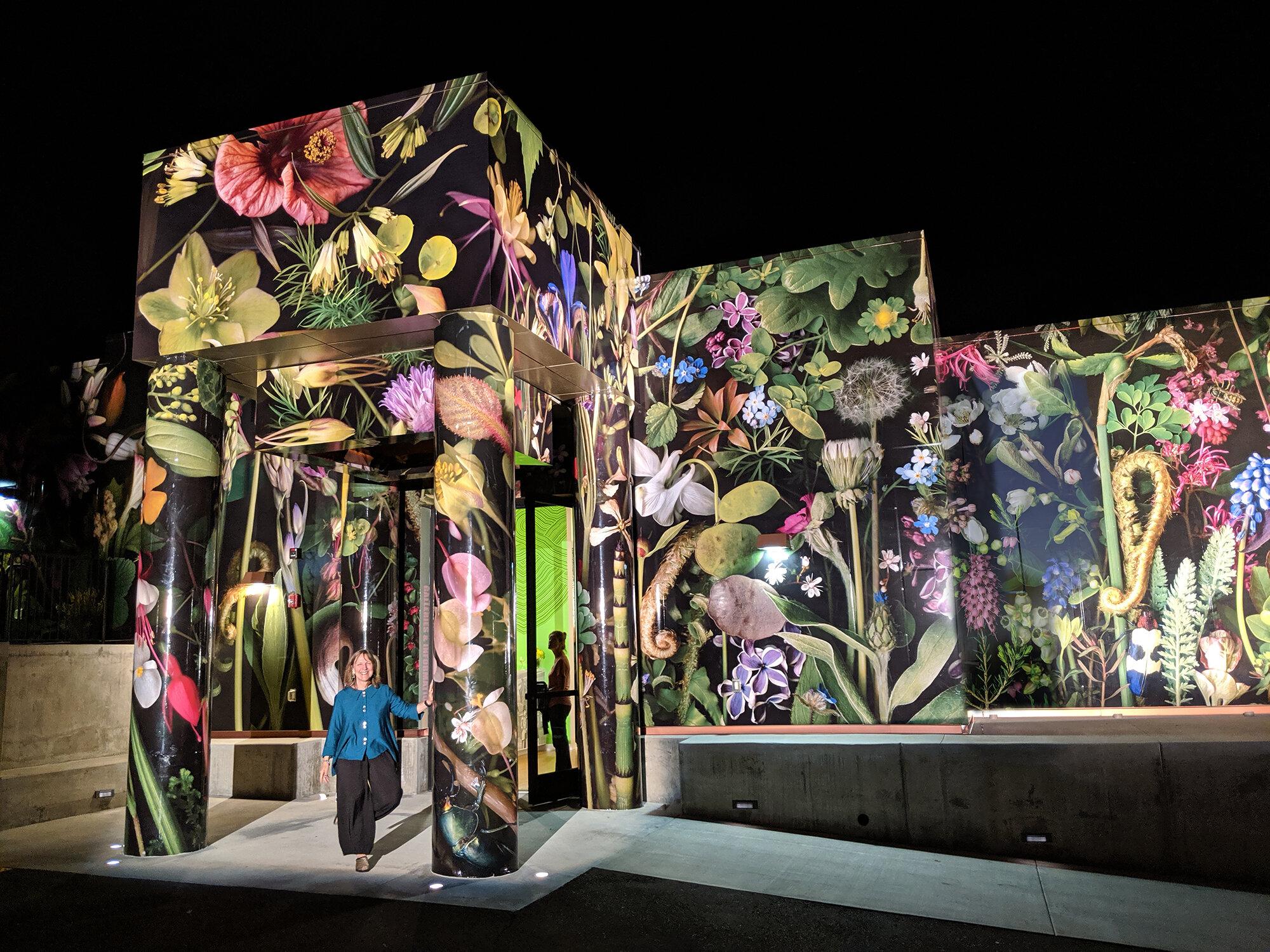 Opening night at Palos Verdes Art Center, September 7, 2019