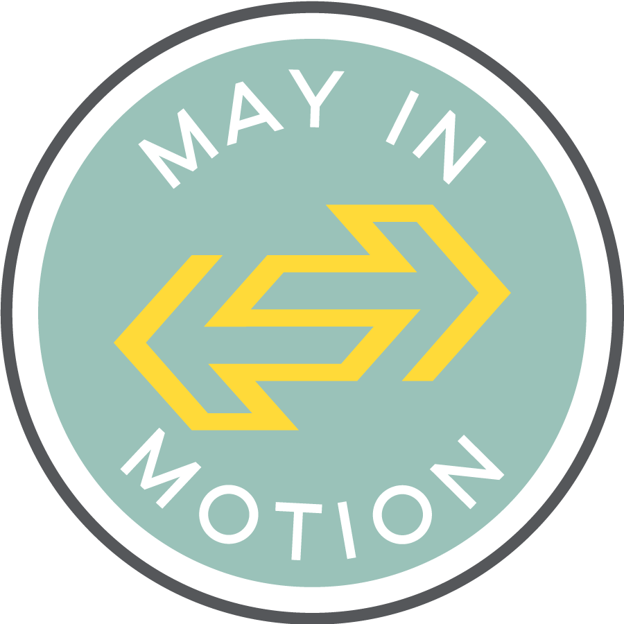 Official May in Motion logo