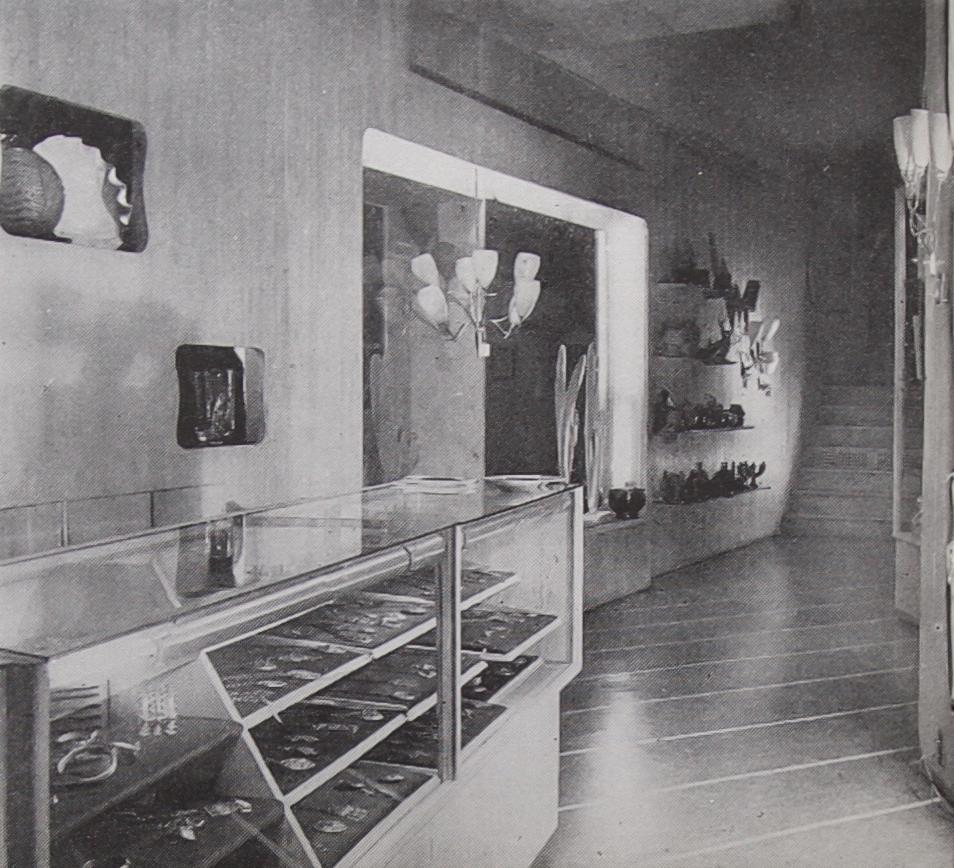 The Finland House gallery shop, 1947.