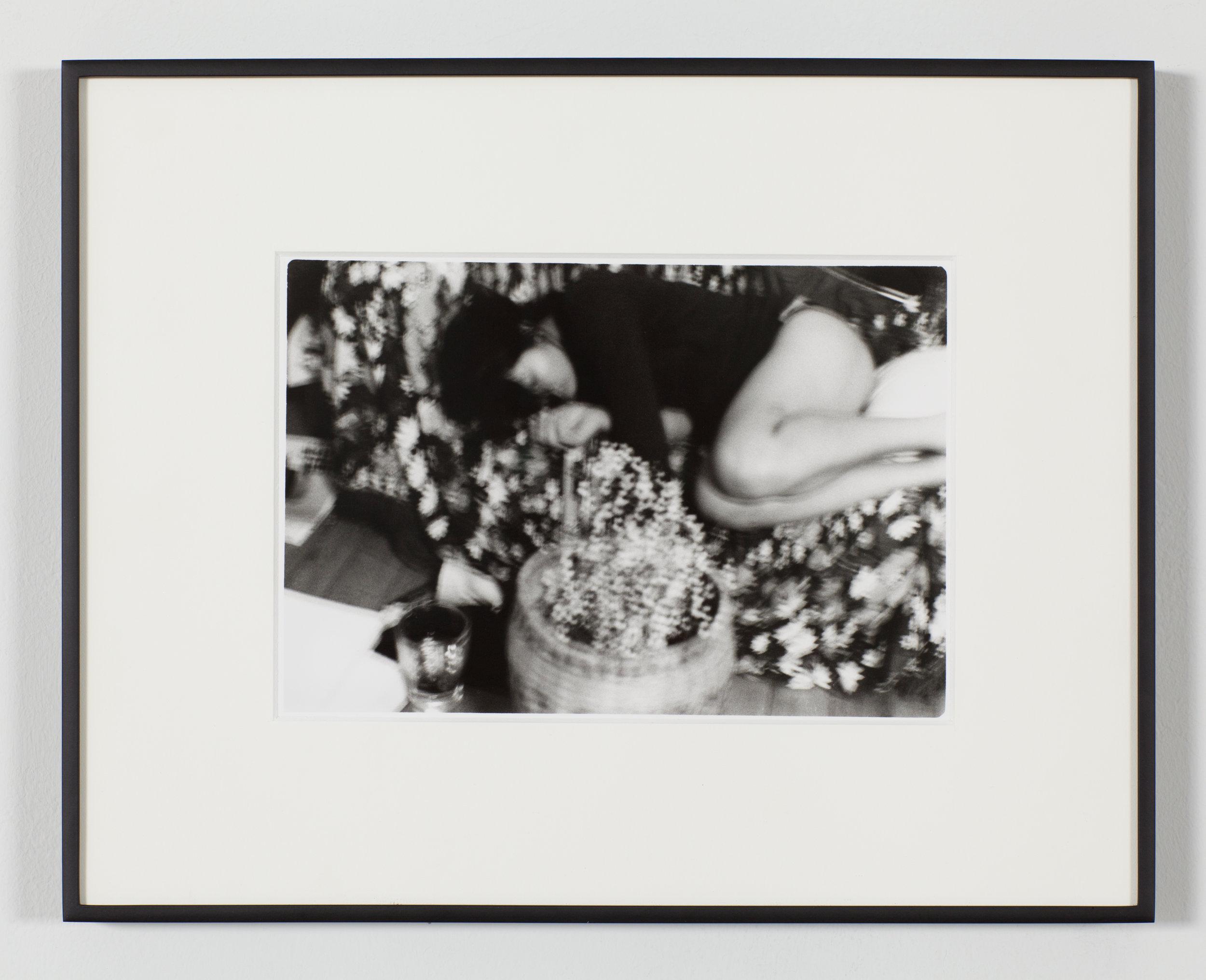 "Untitled (Sleep), 2019 Gelatin Silver Print 11 x 14"" Aluminum Frame"
