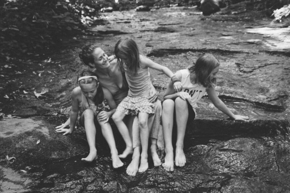 photo of me and my girls by my beloved sister and personal visual historian:  Danielle Cohen