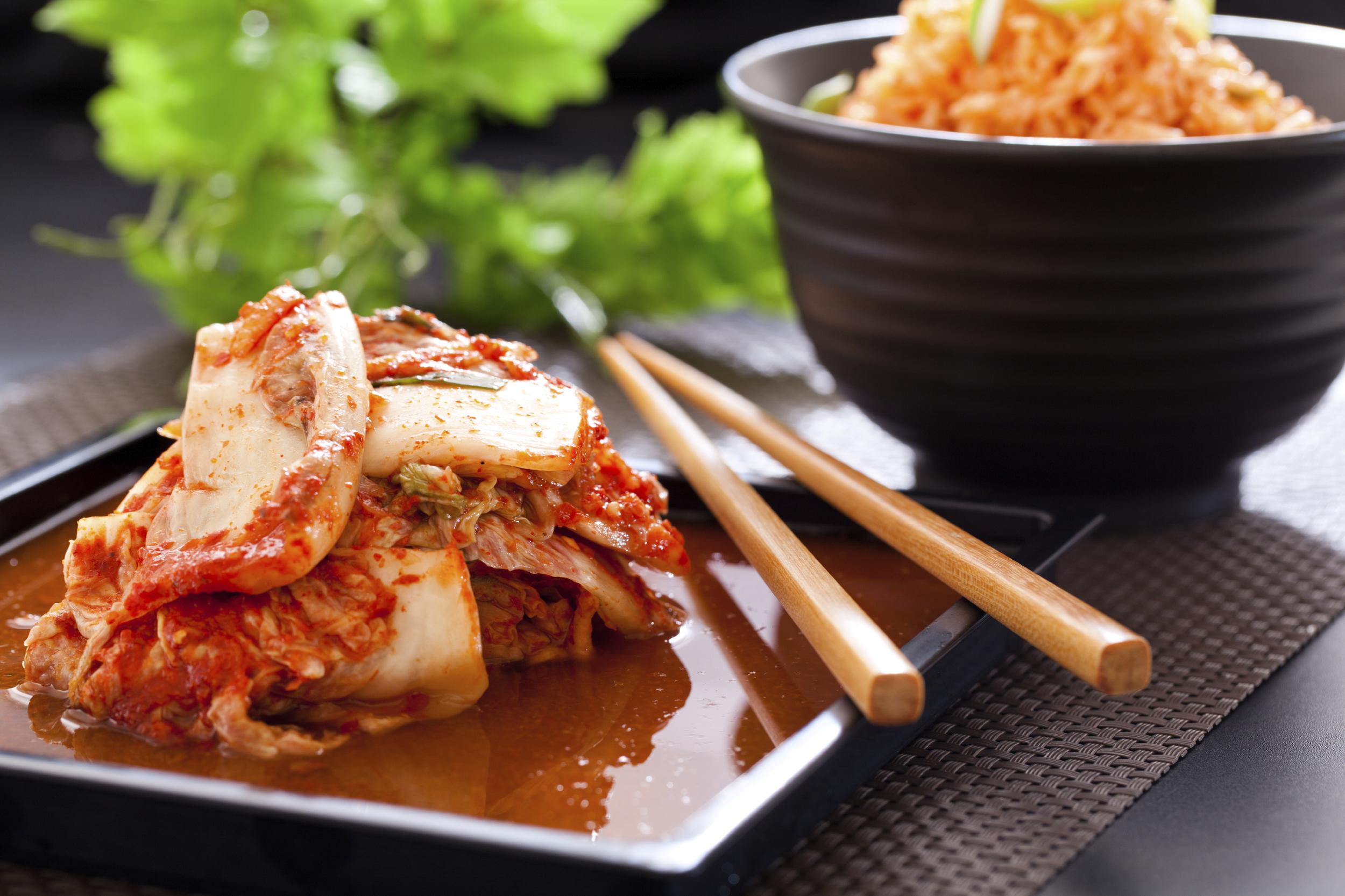 Kimchi Eggs