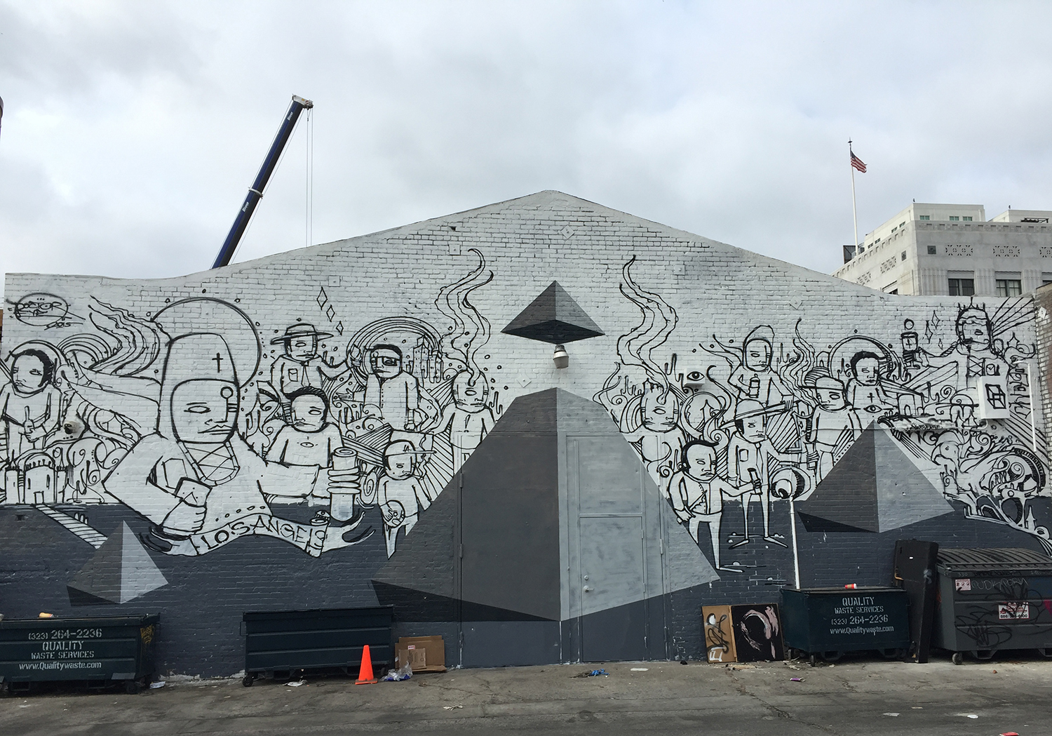 THE WELL mural