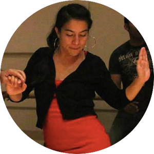 Cristina Ibarra  is an assistant instructor with Rueda con Ritmo. A dancer all her life, Cristina fell in love with salsa when she moved to San Francisco in 2009. Since then she has danced and studied with numerous groups in the Bay Area and beyond, including Rueda con Ritmo, Latin Dance Grooves, and the All Stars on a  Cuba Dance Study Trip . She brings her energetic teaching style and her deep love of the dance to the RCR team. When not tearing up the dance floor, you can find Cristina curating art events for the  Mission Arts Performance Project  (MAPP), or throwing social art parties with  LATE NITE ART .