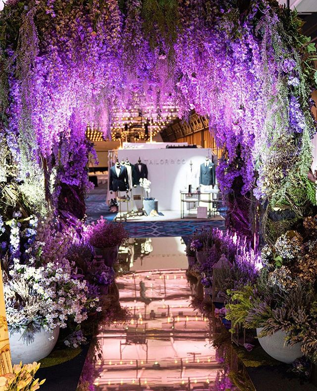 #Repost @weddedwonderland ・・・ Our Wedded World wisteria tunnel was just something else! Did you take a photo under it? Imagine this on your wedding day 😍 • • Florals: @fleur_events Floor: @event_dancefloors Photography: @splendidweddingphotography Venue: @hyattregencysydney __ #WeddedWorld #WeddedWonderland