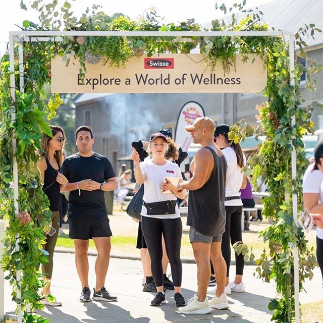#flashback 'Fleur Events brought the Swisse Exploration Garden to life at The Super Bloom Festival with floral installations that supported the Swisse ingredients story.' The following also need to be tagged: @superbloomfestival @swisseau Photo credit: Ben Vall