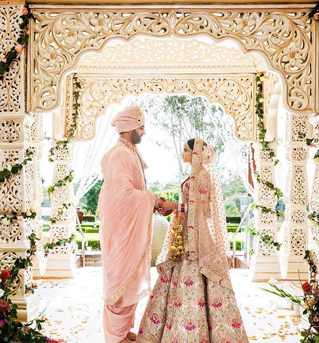 #Repost @themaharanidiaries ・・・ So we may be in the thick of Winter right now, but we can't help dreaming of the Spring/Summer wedding season.  To help you out, we have one beautifully styled Spring wedding on the blog today.  Myura and Bharat's glam Punjabi wedding in Sydney took place at gorgeous venues with the help of two of Sydney's best wedding stylists.  https://themaharanidiaries.com/glam-punjabi-wedding-in-sydney-myura-and-bharat/ **LINK IN BIO** . . . Photography/Videography: @perfectmedia Venues: @bivianosdural and @docksidegroup Decor: @decorashaan and @fleur_events Catering: @maya_dadhaba Cake: @celebrationcakessydney DJ: @jskmusic Outfits: @frontierraas and @myuraaroraofficial Jewellery: @raabtabyrahul, @jainparashjewellers1 Rings: @jacquefinejewellery HMUA: @nikkiaroraofficial (hair) and @myuraaroraofficial (makeup) Mehndi: @arora_mehndi . . . #mandap #darlingharbour #shesaidyes #lehengadesigns #marryme #instaweddings #gettingmarried2019 #luxurywedding #gardenwedding #weddingseason #weddingblog #weddingdress #weddingideas #weddingreception #weddinglehenga #bridalwear #bridalinspo #bridalstyle #bridalfashion #indianweddingstyle #indianweddings #indianweddingdecor #indian_wedding_inspiration #southasianweddings #southasianbride