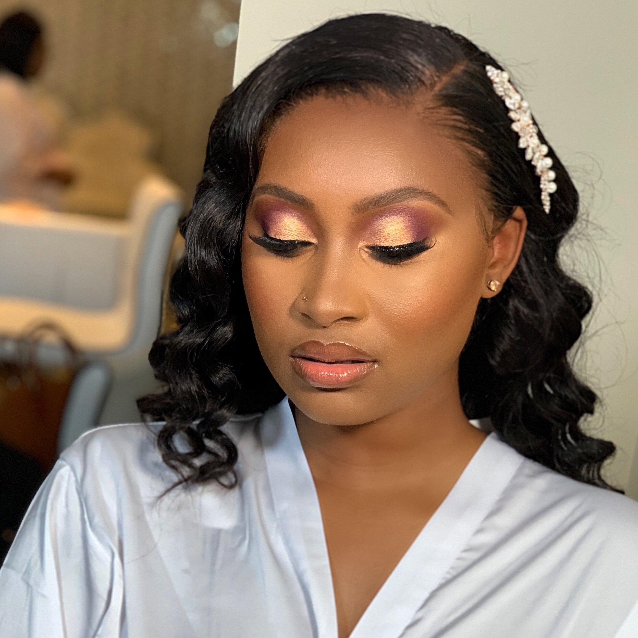 Black Makeup Artist Houston Saubhaya