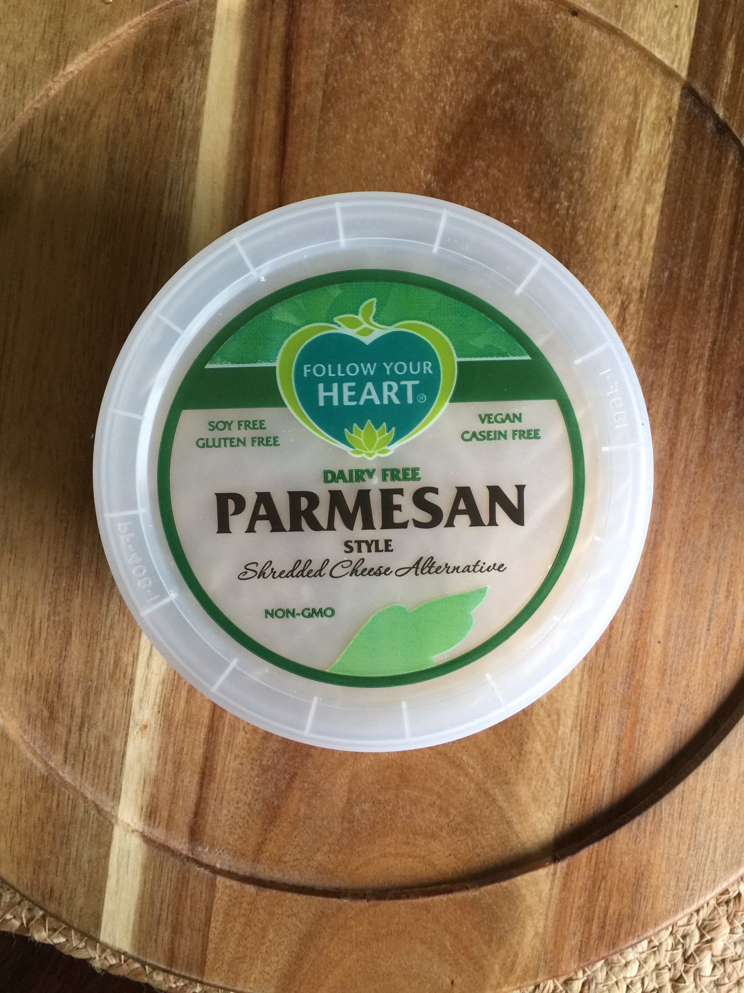 Follow Your Heart Dairy Free Parmesan -
