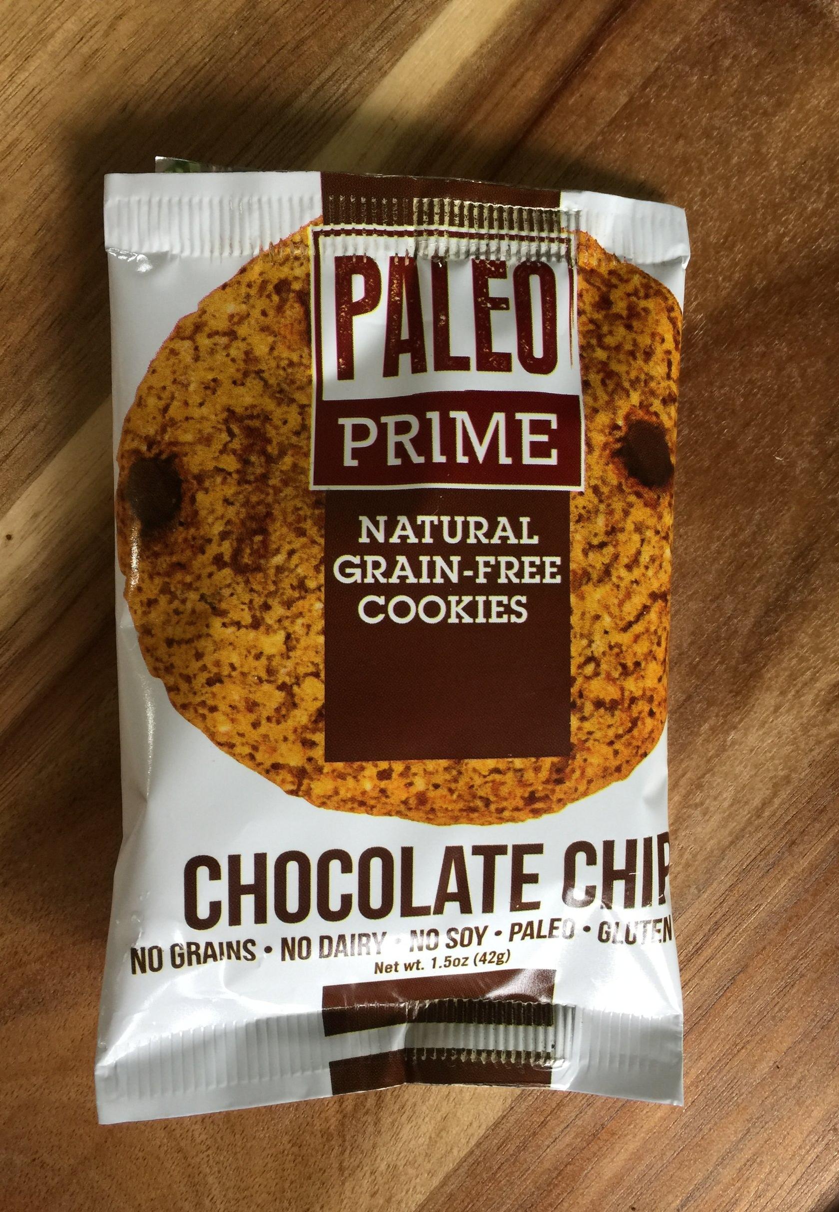 PALEO PRIME CHOCOLATE CHIP COOKIE -