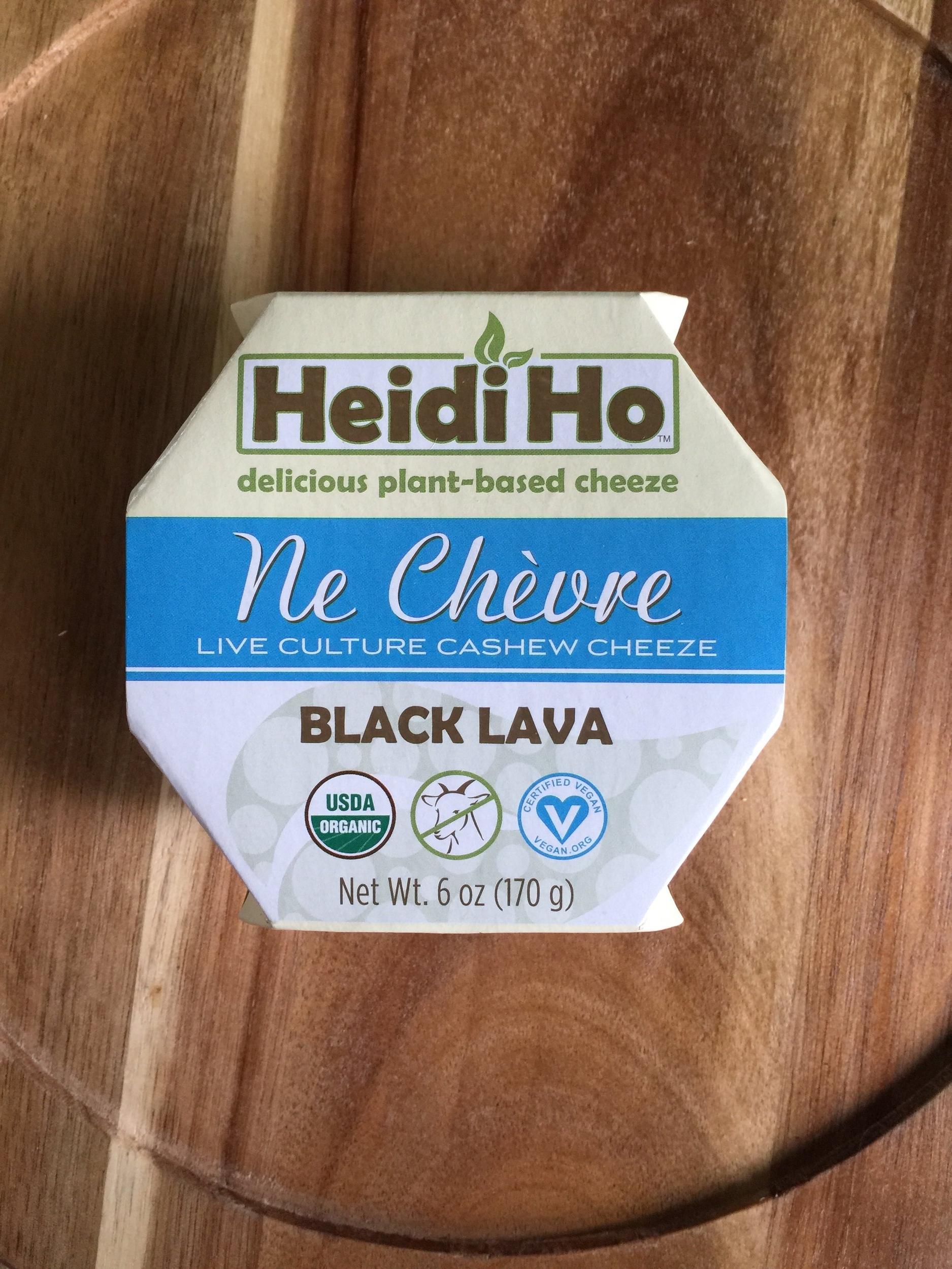 HEIDI HO BLACK LAVA CHEEZE -