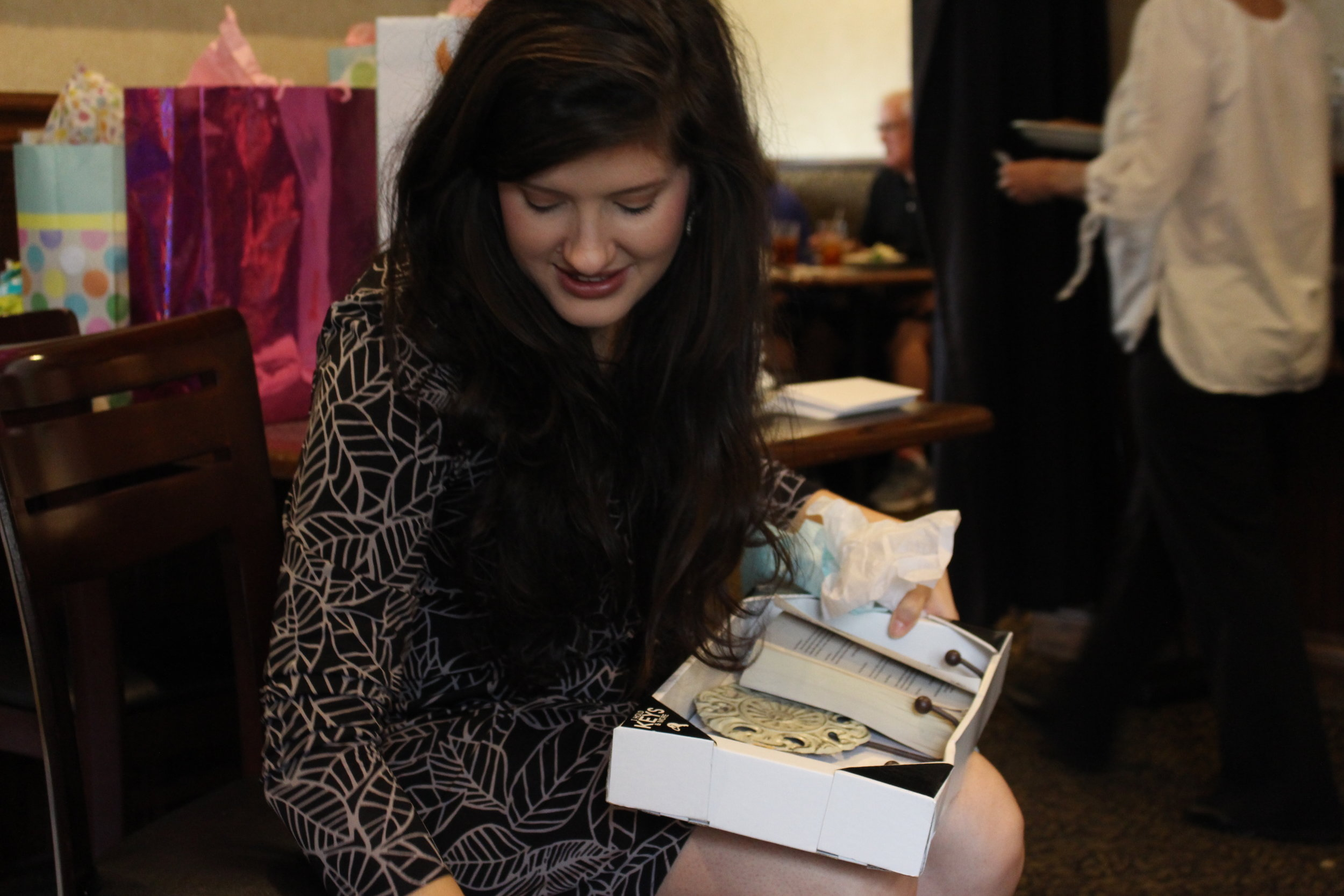 This picture is from the baby shower...but Kel sent me some this week, so I thought I would share!