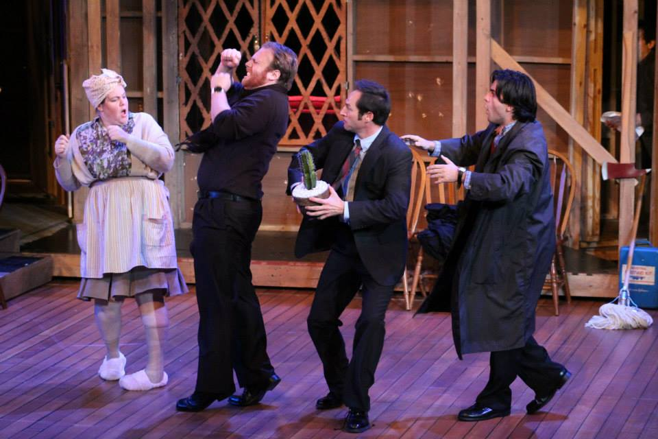 Lloyd Dallas - NOISES OFF, Texas Shakespeare Festival