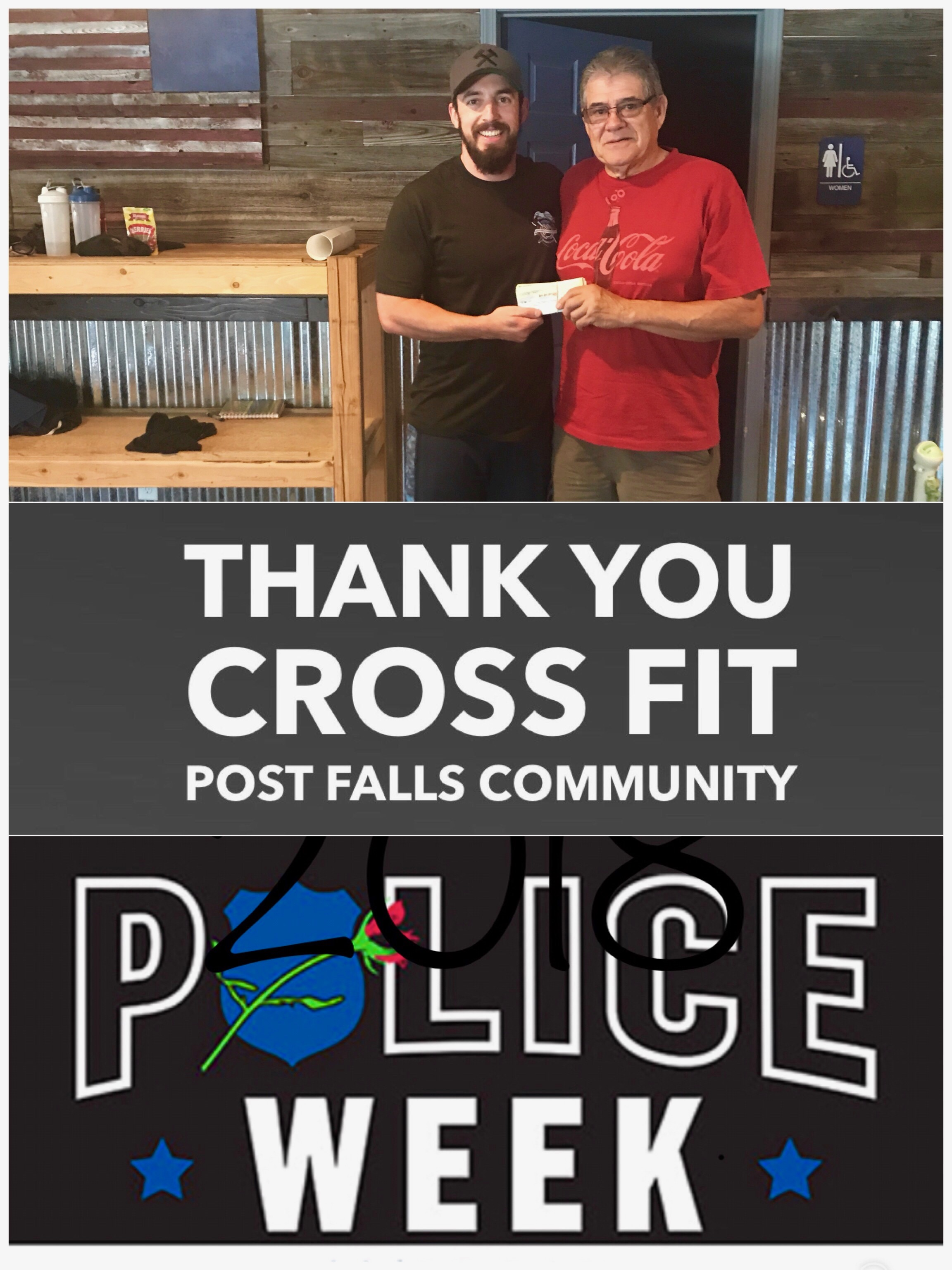 Cross Fit Thank You : Memorial Foundation