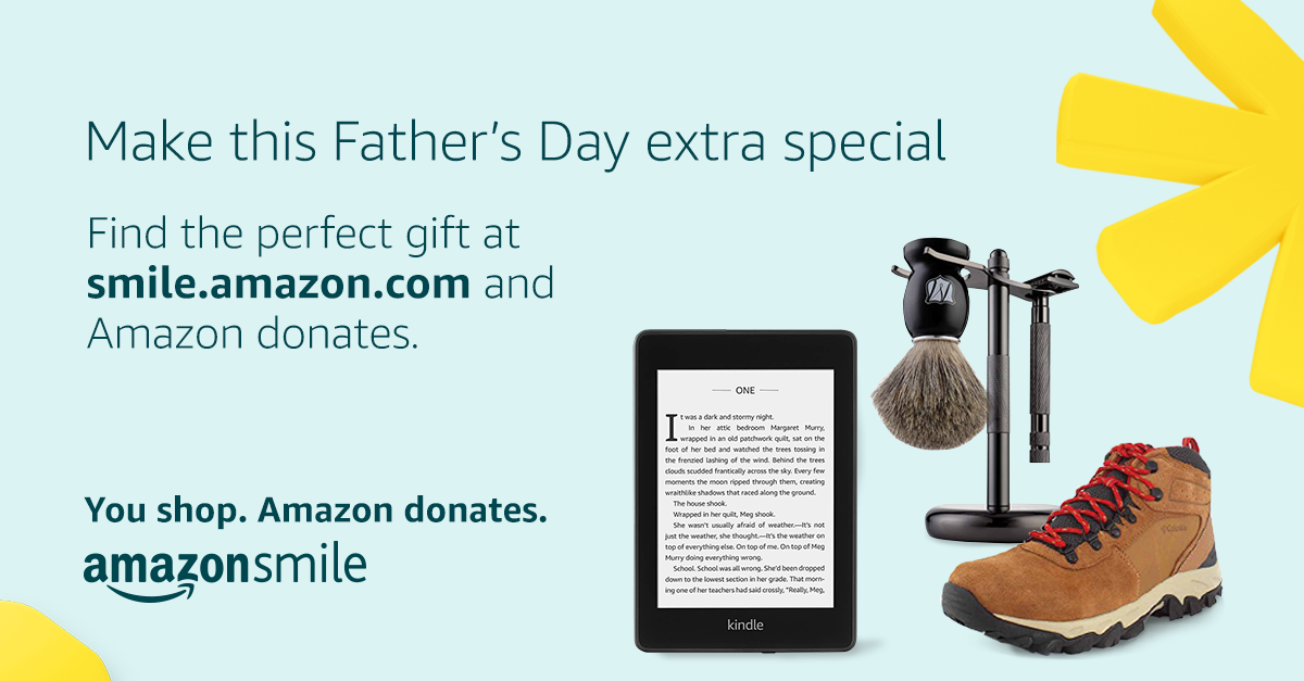 Make Father's Day extra special. You shop. Amazon Donates.