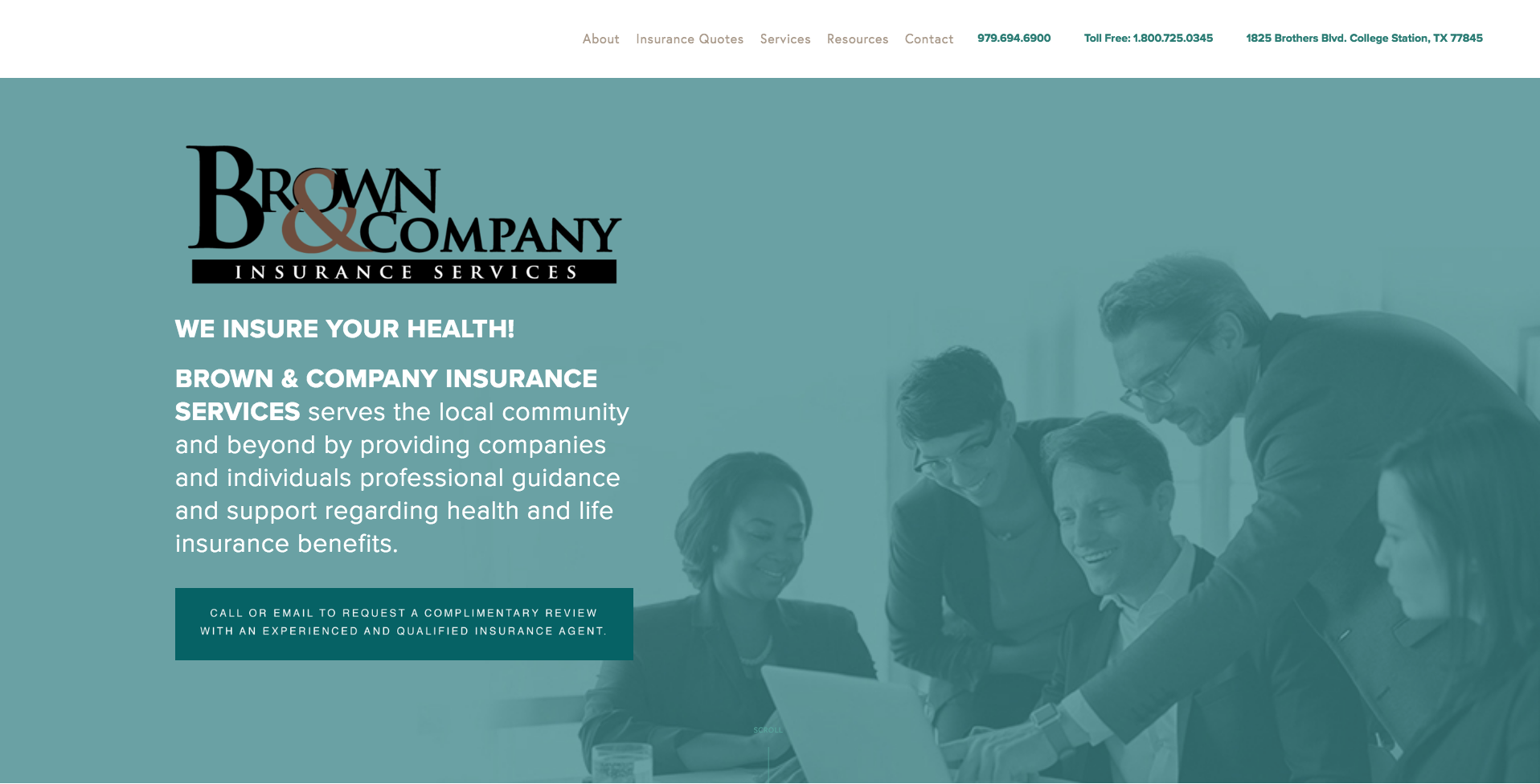 brown&company website