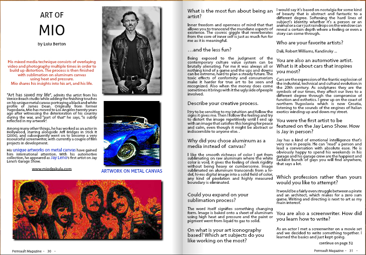 PERREAULT MAG INTERVIEW