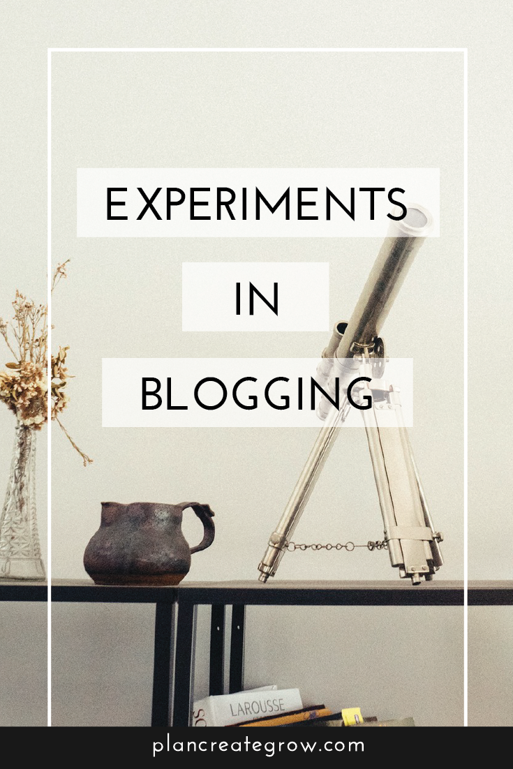 Blogging can be hard! This is my launching point for exploring other ways of blogging that don't feel like a chore.