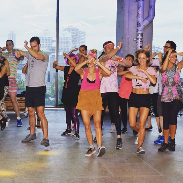 Did someone say dance party?  #yoga #yogini #yogaclass #yogaeveryday #yogalife #meditation #iloveyoga #fitness #yogateacher #mindfulness #iloveyoga #strong #yogaeverydamnday #yogachallenge #mindfulnessmeditation #sensorymeditation #charteredaccountant  #meditationmonday #mondaymind #mondaymindset #mondayminds #surpriseyoga #fitnessaddict #fitnessmotivation #fit #sydney #healthyliving #healthylifestyle  #corporateyoga #corporatemeditation