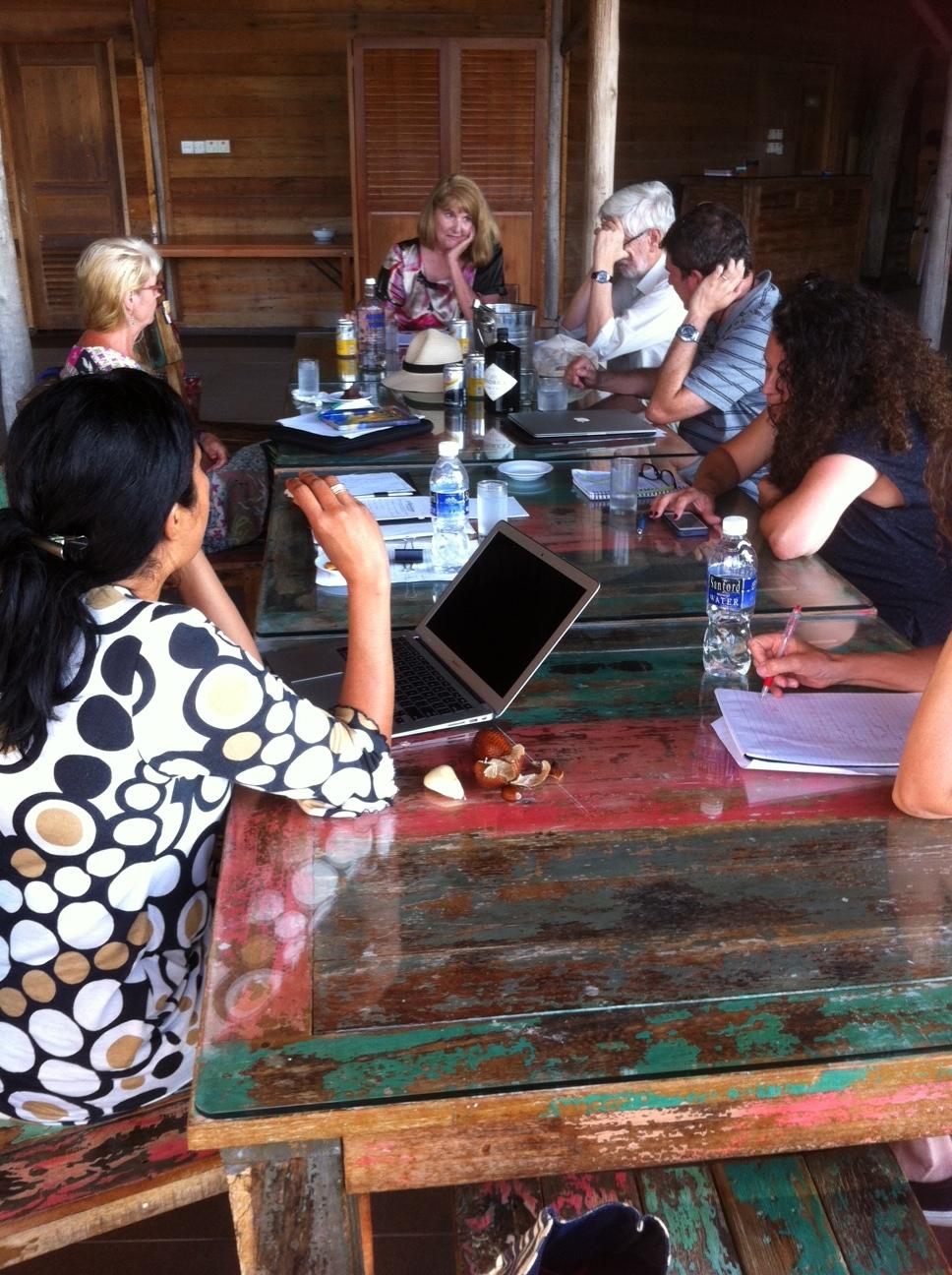 Telunas 2016 workshop with Robin Hemley