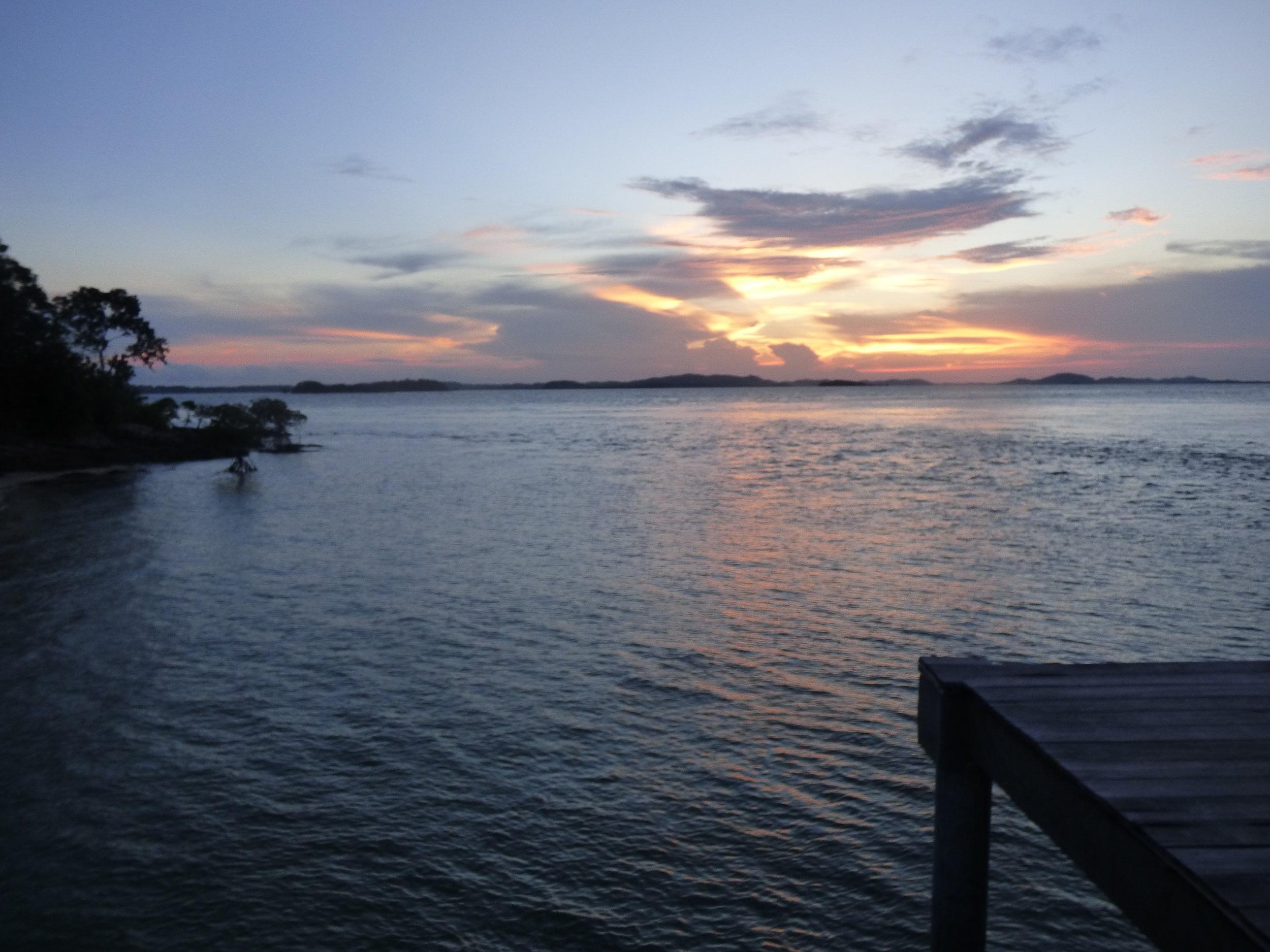 Sunset at Telunas