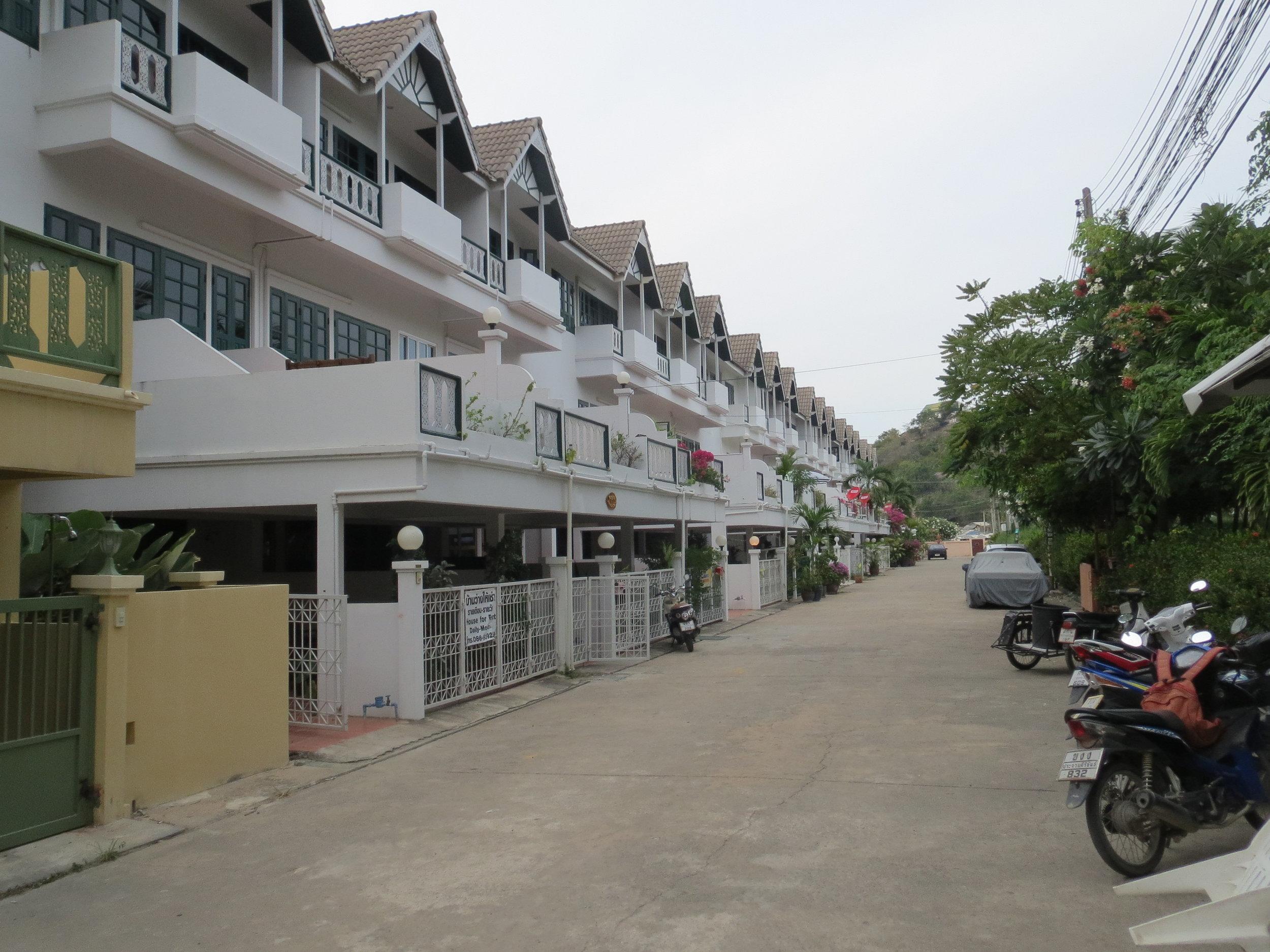 Ba'an Thai Villas are located on a private soi - a short walk to the beach