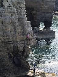 Wild cliffs of Orkney