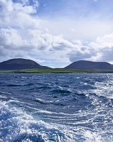 Orkney - beautiful - remote - the perfect spot for the writing life