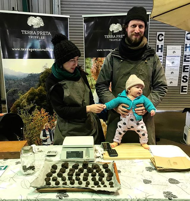 Last market of the season tomorrow! Come get your last truffle at the @crfarmersmarket  We've got limited quantity so don't leave it too late. Look forward to seeing you there!!