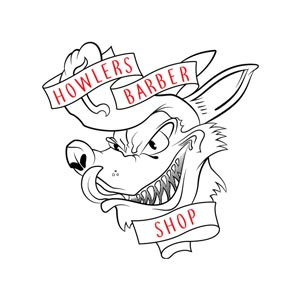 Howlers Barber Shop Marketing