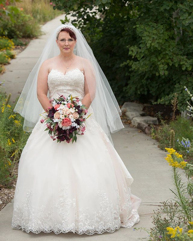 That moment just before you walk down the aisle. @dyckarboretum