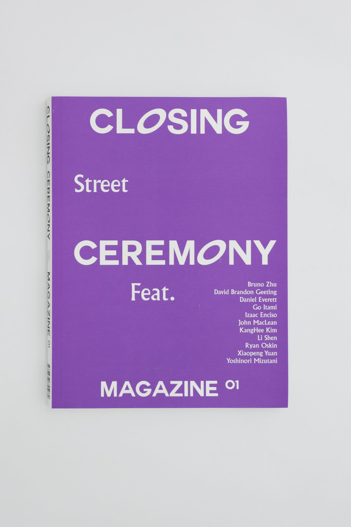 """""""It's a closing ceremony when pressing the shutter for creation.""""   Closing Ceremony Magazine is a ceremony for the traditional/classic photography and a warm welcoming to the new.  The internet and use of graphics software has facilitated an unprecedented speed, which has had a decisive impact on the ways we see and represent our direct environment. While at the same time, the new generation of photographers has found groundbreaking to relocate the borders, hence our awareness of urban reality. The bond between photography and the urban environment has to be reconsidered through a wider range of affiliations, and what makes contemporary street photography so compelling is its ability to lay bare the intricate that determine our perception of reality.   Closing Ceremony magazine début issue features 14 contributing photographers: Bruno Zhu, Corey Olsen, David Brandon Geeting, Daniel Everett, Go Itami, Hiroyuki Sato,  Izaac Enciso,  John MacLean, KangHee Kim, Ryan Oskin, Sergiy Barchuk, Shen Li, Xiaopeng Yuan and Yoshinori Mizutani, their unpublished new works and interviews along with an essay written by Joël Vachero (Essay Author/ ECAL Teacher/ Visual Researcher) and exhibitions.  Same Paper presents, 2017"""