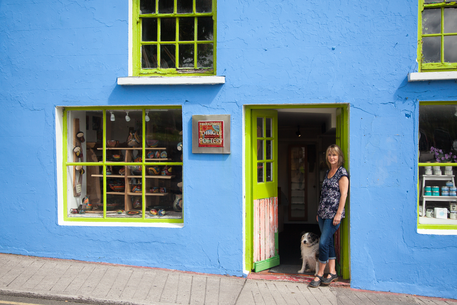 The Dingle Pottery Shop on Green Street