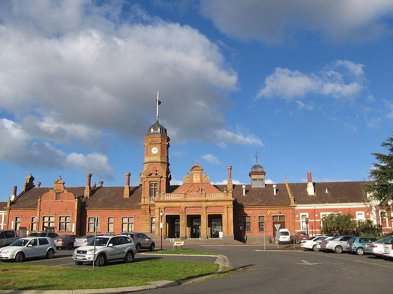 Attribution: I,  Mattinbgn  Maryborough Railway Station ( history )