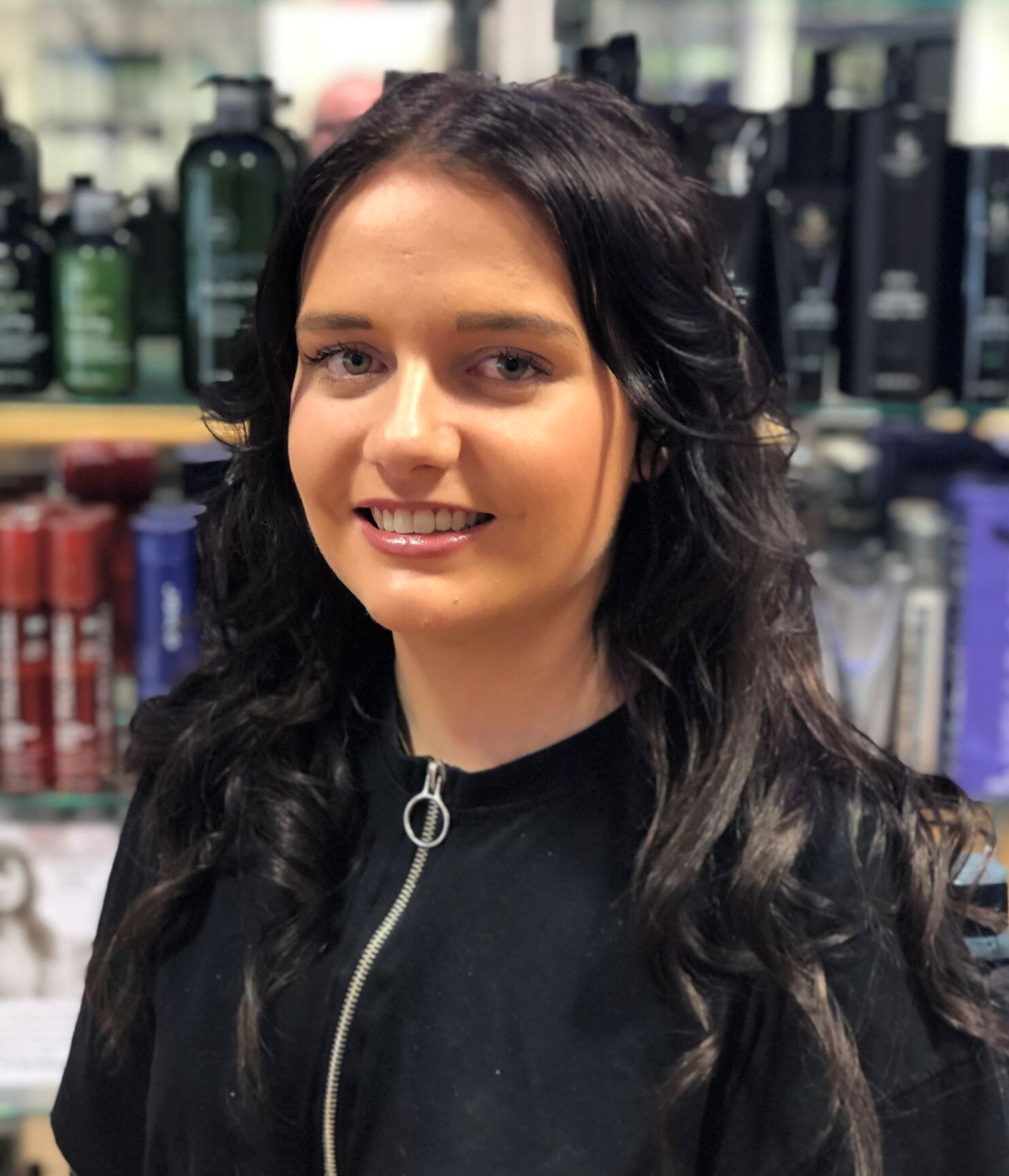 Laura  -   is the salon's new Future Professional; joining the team in June 2019 she is presently sharpening her skills in all aspects of hairdressing.