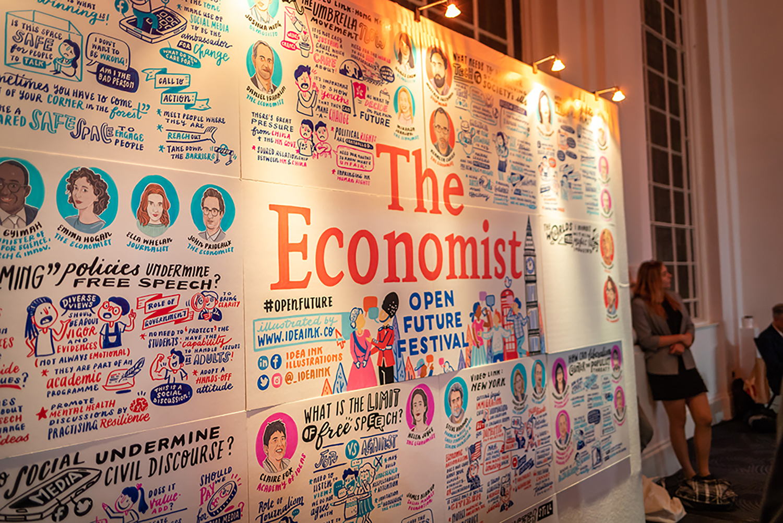 The Economist Open Future Festival   London