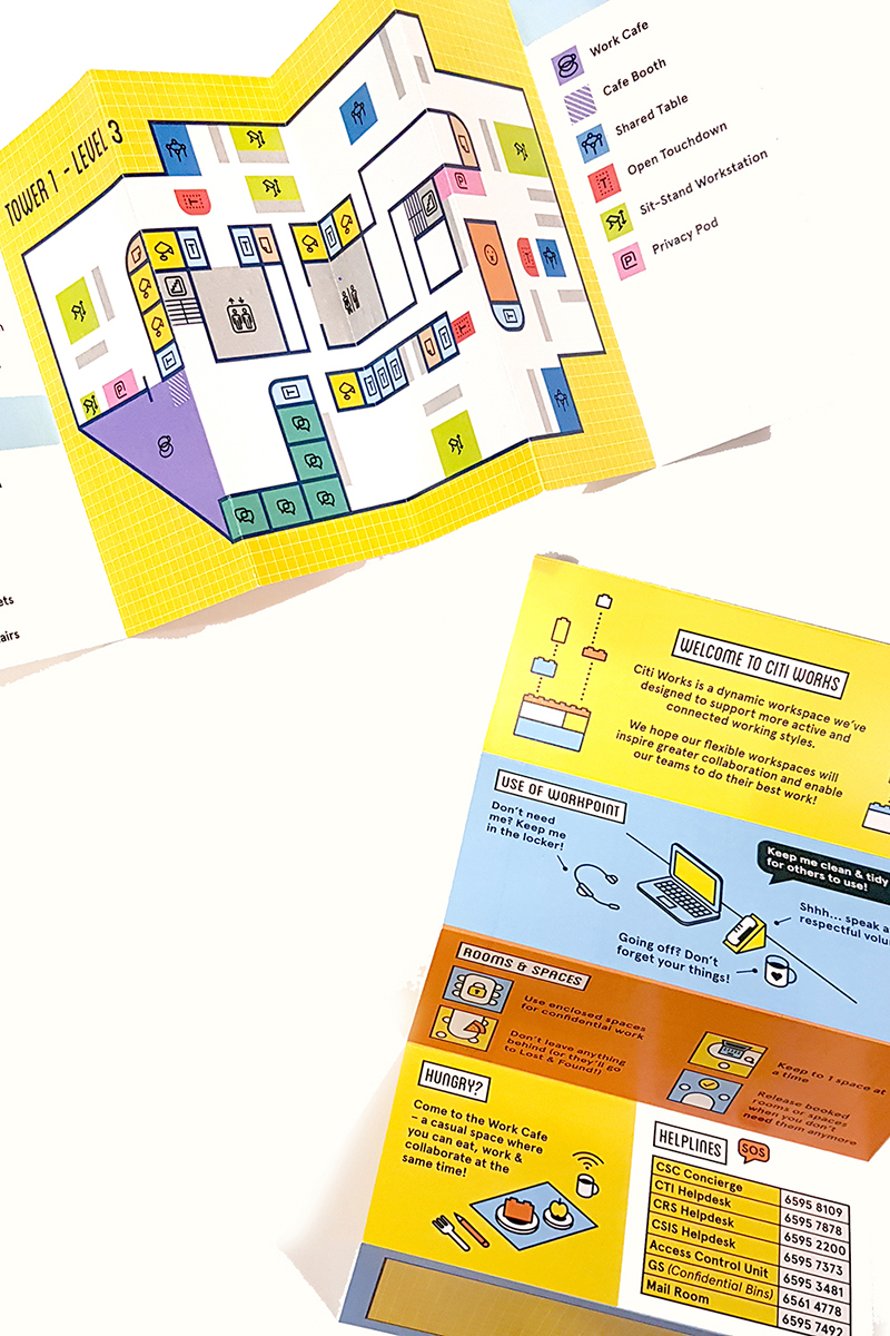 infographics illustration drawing office mural graphic